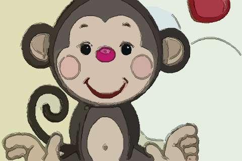 属猴女微信头像吉祥