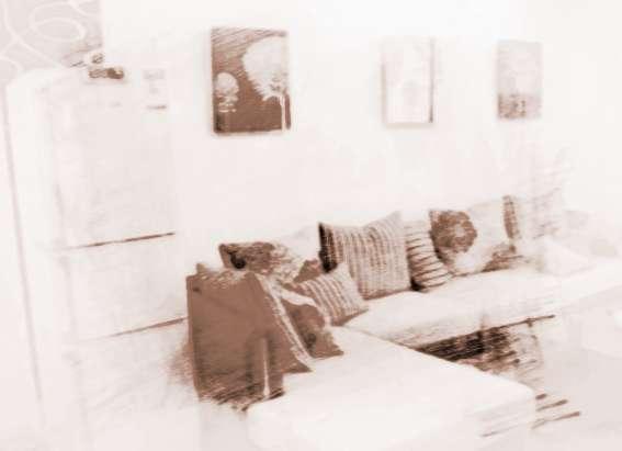 冰箱放在客厅的效果图