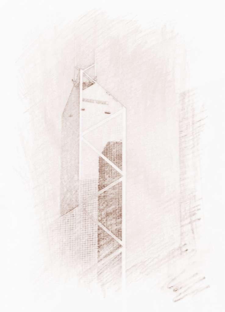 香港中银大厦风水