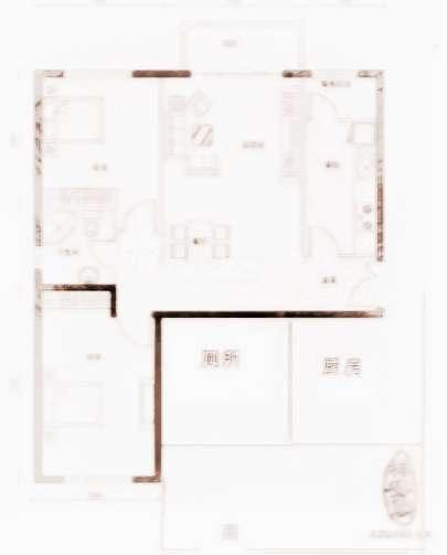 六平方房间装修平面图