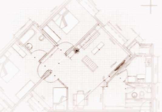 三角型塔楼户型图