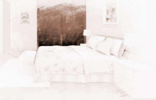 真实家庭卧室晚上照片