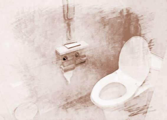 厕所内部布设与厕所门的风水联系
