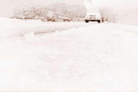梦见道路结冰