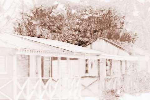 梦见木头房子