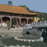 梦见寺庙进水
