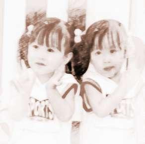 梦见双胞胎小女孩