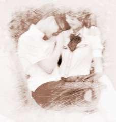 梦见和别的男人亲热图片