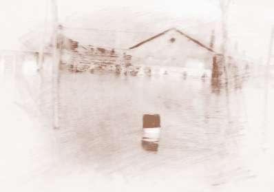 梦见洪水冲进家里