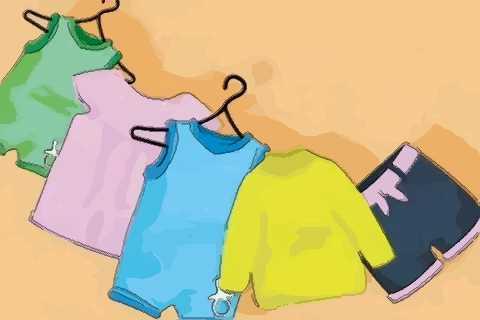 夢見很多小孩衣服
