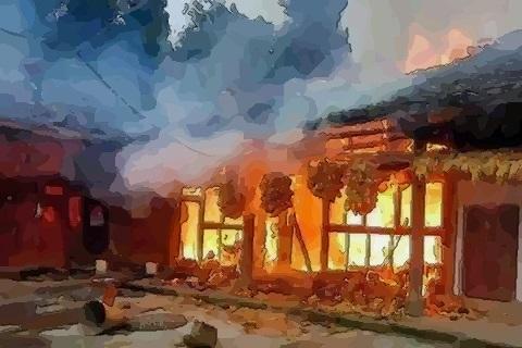 夢見房屋失火