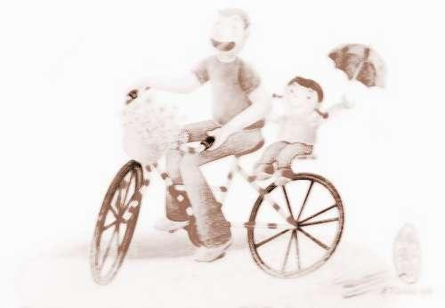 做梦梦见坐自行车_梦到坐自行车