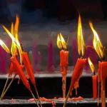 梦见蜡烛燃烧