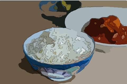 梦见囊中米饭