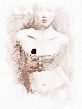 女人胸前长痣面相图