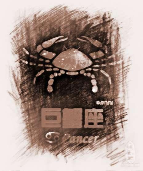 巨蟹座的速配女生属蛇b型血天秤座星座图片