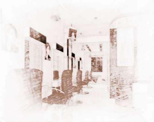 银之座发型设计室 绿茵方舟理发店