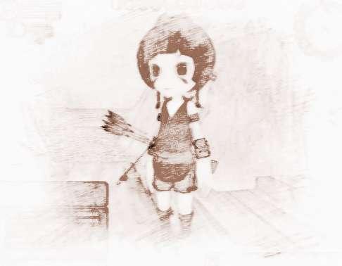 名字可爱的游戏女生的认真电台雪女生图片