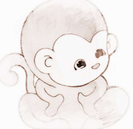 幸运吉祥招财微信头像属猴