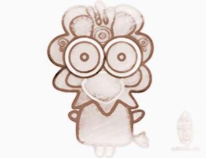 生肖鸡2014年吉祥物