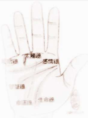 手纹感情线全解