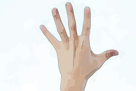 手指上有痣的運勢如何 手指長痣好嗎