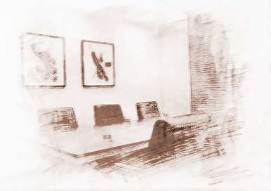 办公室桌椅摆放风水,同样忌讳横梁压顶