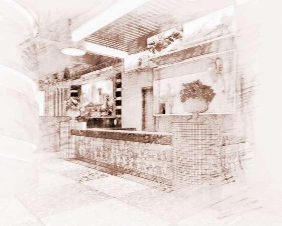 餐厅收银台设计风水