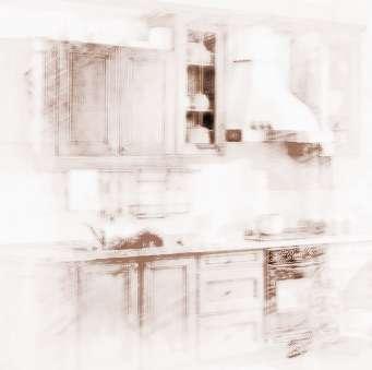 欧式厨房三色墙砖