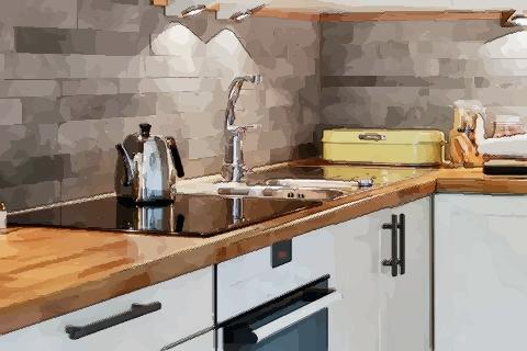 厨房中灶台方位和朝向 灶台摆放位置风水图
