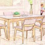家庭用餐桌图片 餐桌如何摆放