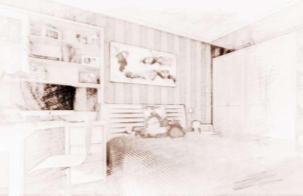 儿童房风水:儿童房挂画风水