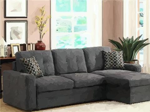 合理摆放沙发也可提升个人的财运