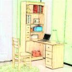书桌的摆放的正确图片 书桌如何摆放