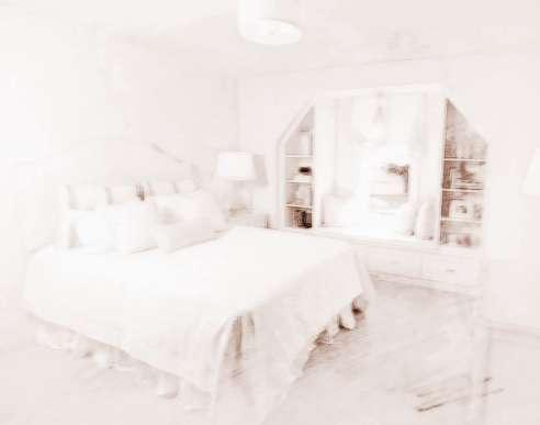 卧室门帘形状风水