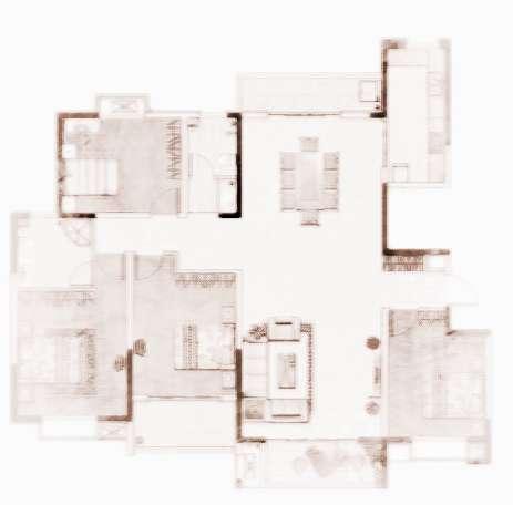 图解户型风水好的房子