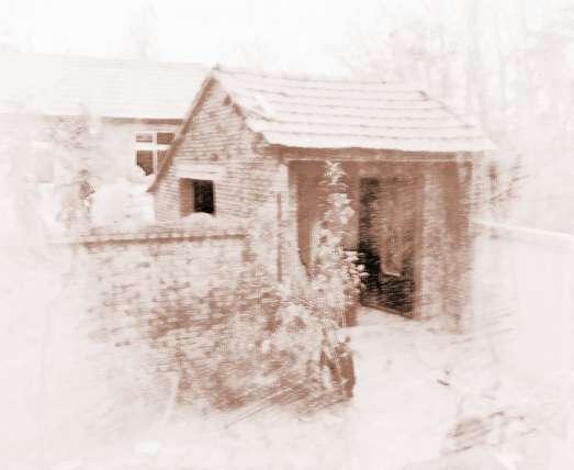 农村宅院风水图解 1,平房住宅不可建在山脊上