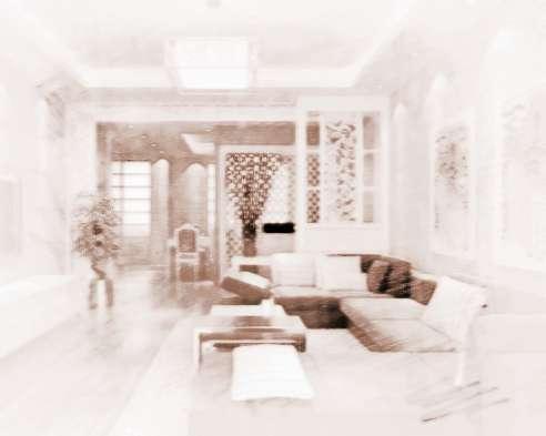 室内装修风水画