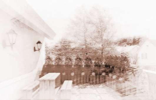 大阳台欧式家装拱门造型图片