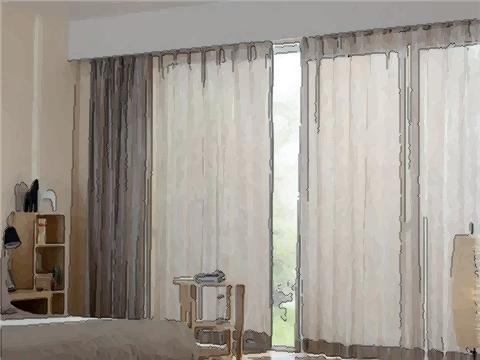 室内窗帘的颜色怎么选?窗帘选不好,也会破坏室内风水!