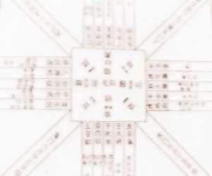 阳宅八卦方位图