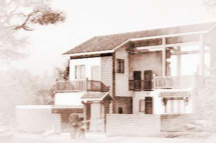 农村自建平房大窗户外观效果图