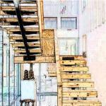 自建房开门见向上楼梯对风水有何影响