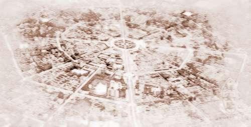 道教全真七子丘处机设计的新疆八卦城