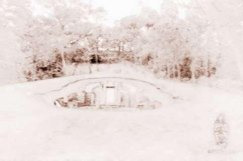 农村墓地装修样式图