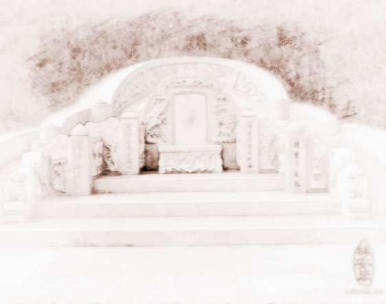 坟墓   关于墓地风水朝向十不向