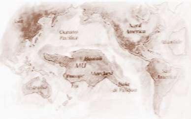 西止马里亚纳群岛,东西长约8000公里