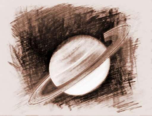 土星为什么有光环