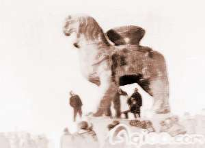 沧州铁狮子的著名传说