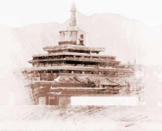 藏式房子框架结构